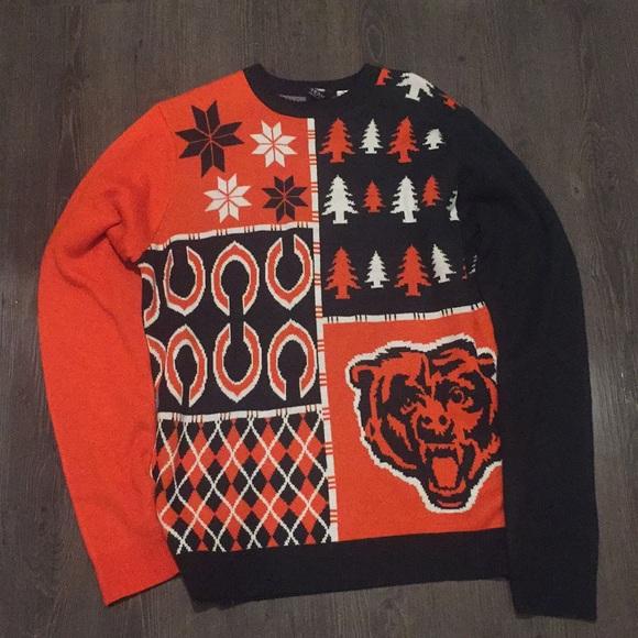 Nfl Sweaters Chicago Bears Christmas Sweater Poshmark